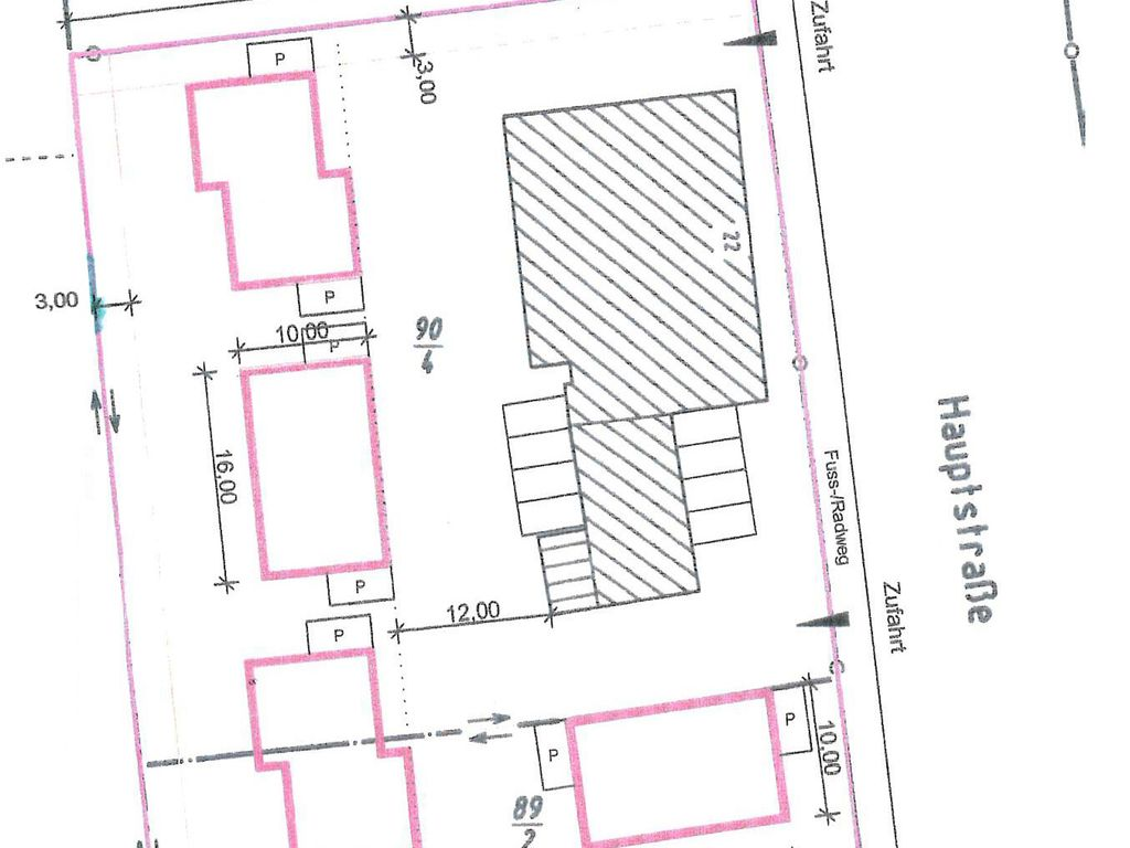 Planung Bauvoranfrage
