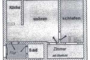 2.5 Zimmer Wohnung in Mittelsachsen (Kreis)