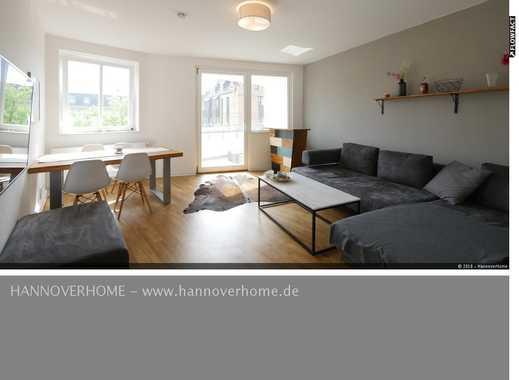 Modern eingerichtete 3-Zimmer-Wohnung im Herzen Hannovers - mit Internet!