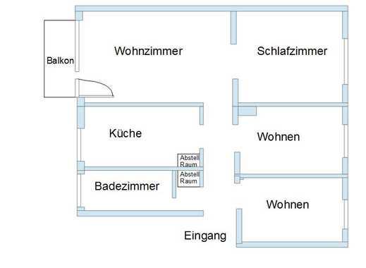 Saniert und modernisiert: 4-Zimmer-Wohnung mit Balkon in Humboldt/Gremberg