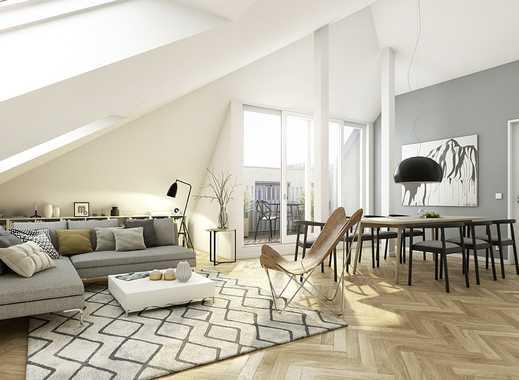 In ruhiger Innenhoflage: Penthouse-Wohnung mit 2 Dachterrassen + 2 Bädern direkt am Prenzlauer Berg