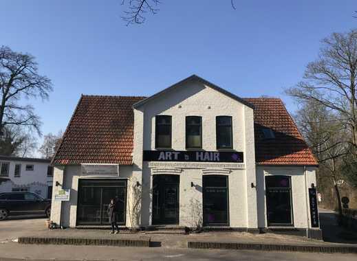 Worpswede Zentrum - heller Laden oder Büro im goldenen Dreieck in historischen Gebäude