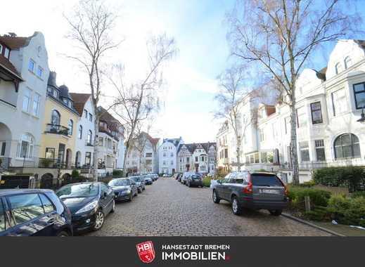 Kapitalanlage: Barkhof / Blick über die Dächer von Bremen mit großer Dachterrasse
