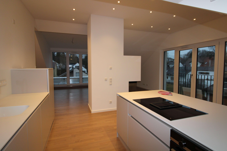 Design-Dachgeschosswohnung in den Isarauen in Unterföhring