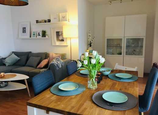 Vollständig eingerichtete Wohnung zur Zwischenmiete (ca. 6 Monate) mit Terrasse und Garten