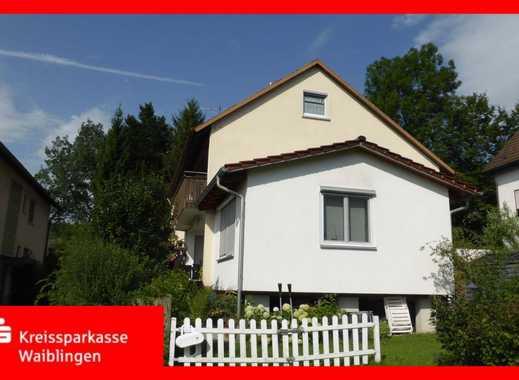 Gepflegtes Zweifamilienhaus in schöner Lage von Schorndorf-Haubersbronn!