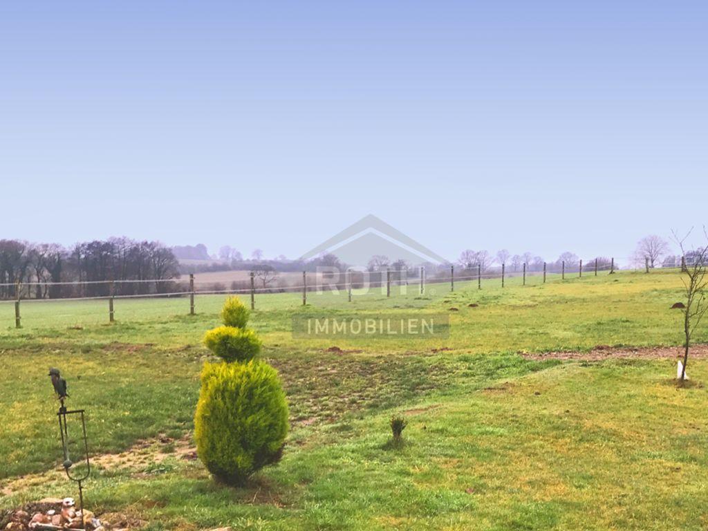 Blick von Grundstück