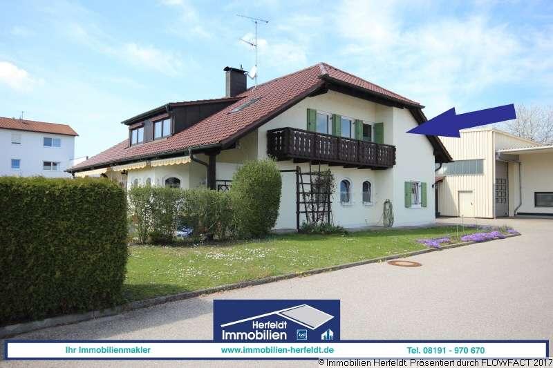 Großzügige 4-Zimmer-Wohnung in Landsberg mit zwei Balkonen in Landsberg am Lech