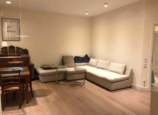 Exklusive, neuwertige 3-Zimmer-Wohnung mit Balkon und Einbauküche in Frankfurt Holzhausenviertel