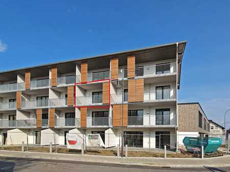 Erstbezug: 2-Zimmer-Wohnung mit West-Balkon in Bad Aibling in Bad Aibling