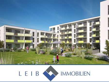 Erstbezug: Altersgerechte 2-Zimmer Neubauwohnung mit Balkon und Einbauküche in Bertelsdorf (Coburg)