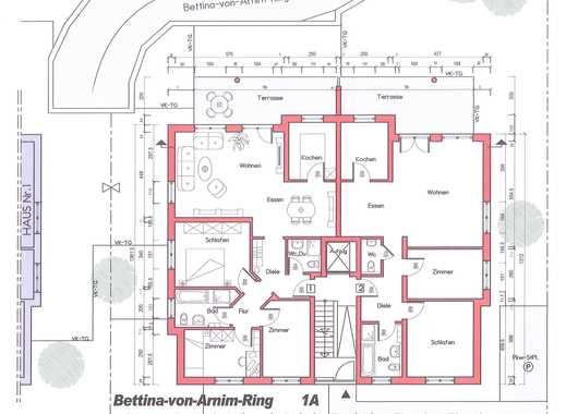 Neubau-Erstbezug! 3-Zimmer-Wohnung mit Gartenanteil in Rodgau-Hainhausen