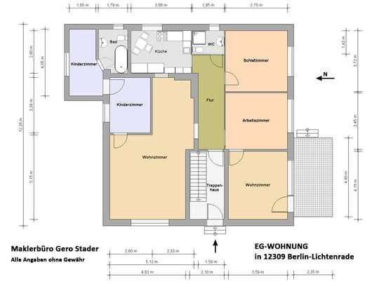 120m² Wohnung inkl. Garten, Terrasse und Garage in einem 2-Familienhaus - Bild 25