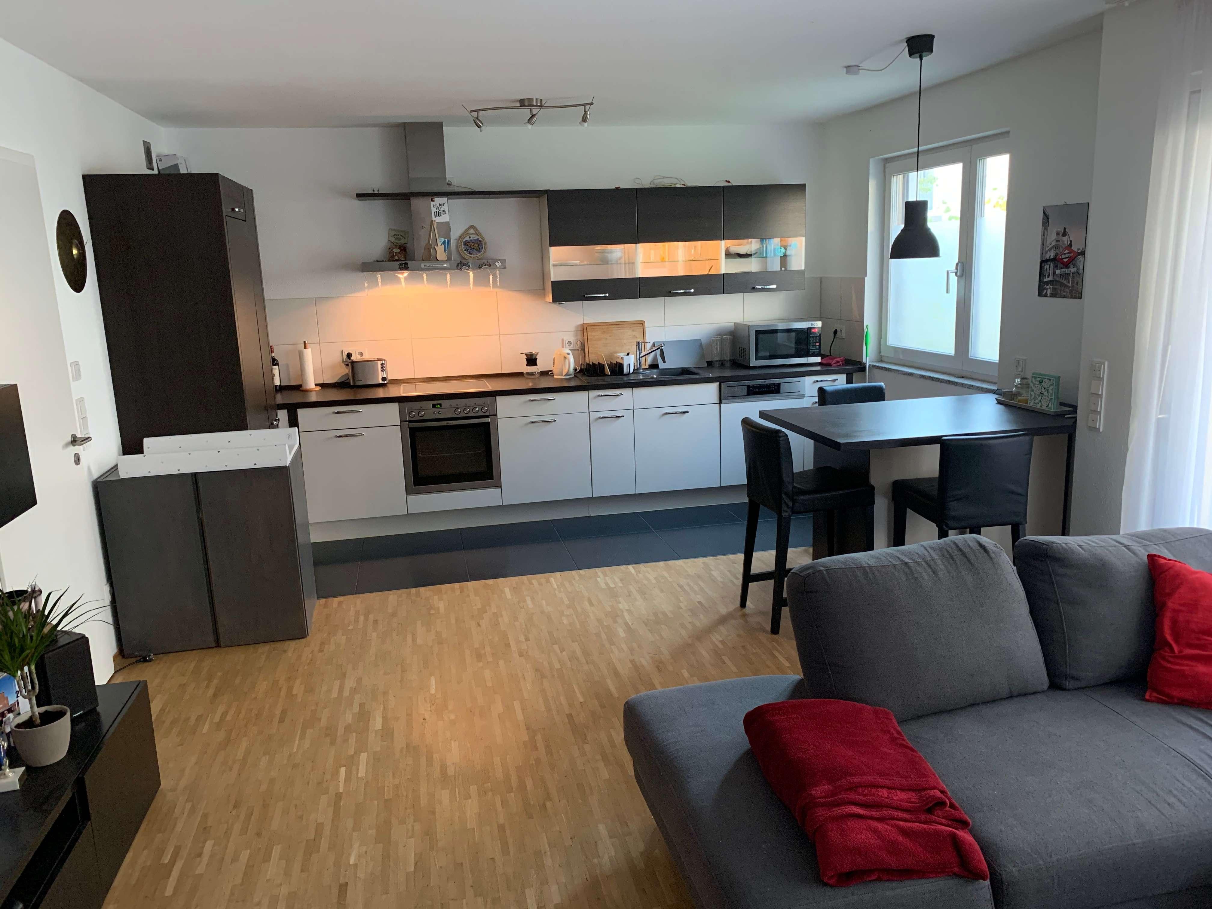 Exklusive, neuwertige 2-Zimmer-Erdgeschosswohnung mit eigenem Garten und EBK in Erlangen in Erlangen - Zentrum (Erlangen)