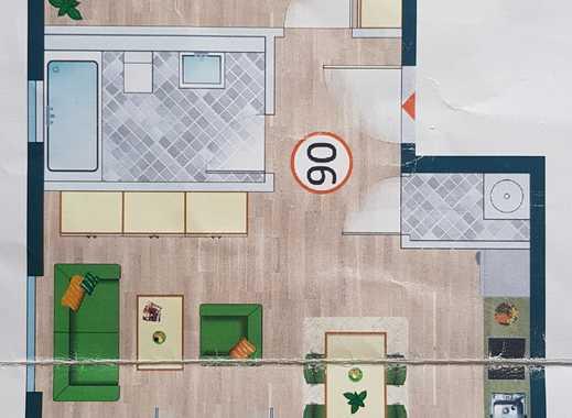Stilvolle, neuwertige 2-Zimmer-Wohnung mit Balkon und EBK in Hürth Efferen