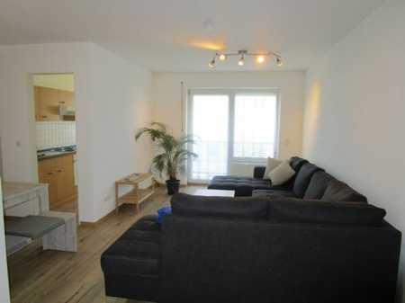 Möbliertes Wohnen, Exklusive, gepflegte 2-Zimmer-Wohnung im Zentrum mit sonnigem Südbalkon in Waldkraiburg