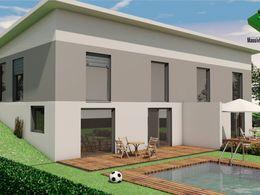 Haus-Idee DHH mit Pultdach