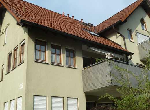 Gepflegte 3-Zimmer-Wohnung mit Balkon und Einbauküche in Schwäbisch Hall
