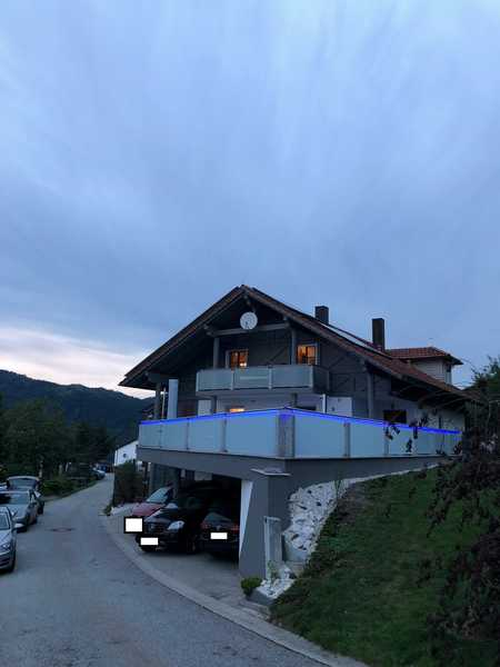 4-Zimmer-Dachgeschosswohnung mit Balkon in Alberting/Grafling in Grafling