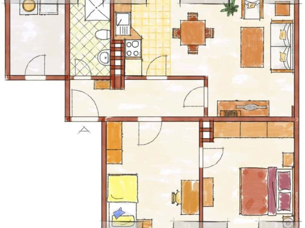 eigentumswohnung in s mmerda karl marx stra e. Black Bedroom Furniture Sets. Home Design Ideas