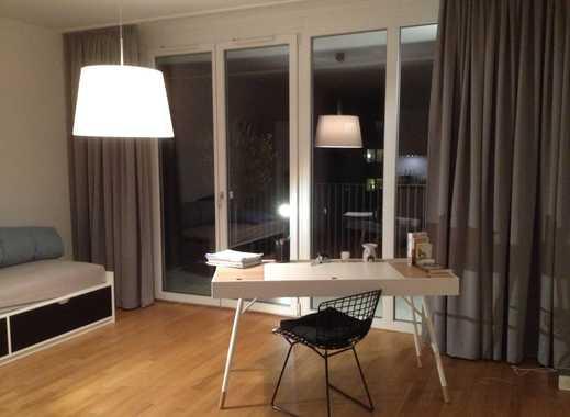 Stylisches, exklusives 1-Raum Komfort-Apartment mit Balkon in Düsseldorf- Bilk