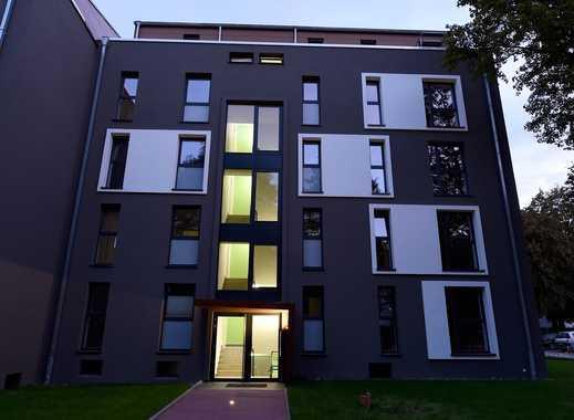 Neubau-Penthouse mit großzügiger Dachterrasse mitten im Grünen