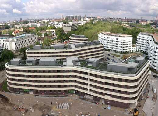 Erstbezug 4 Zi, 92qm 4.OG mit Dachgarten in Berg am Laim, München