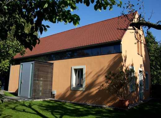 Modernes Einfamilienhaus zur Miete mit Garten und Spitzhausblick in Radebeul-Oberlößnitz