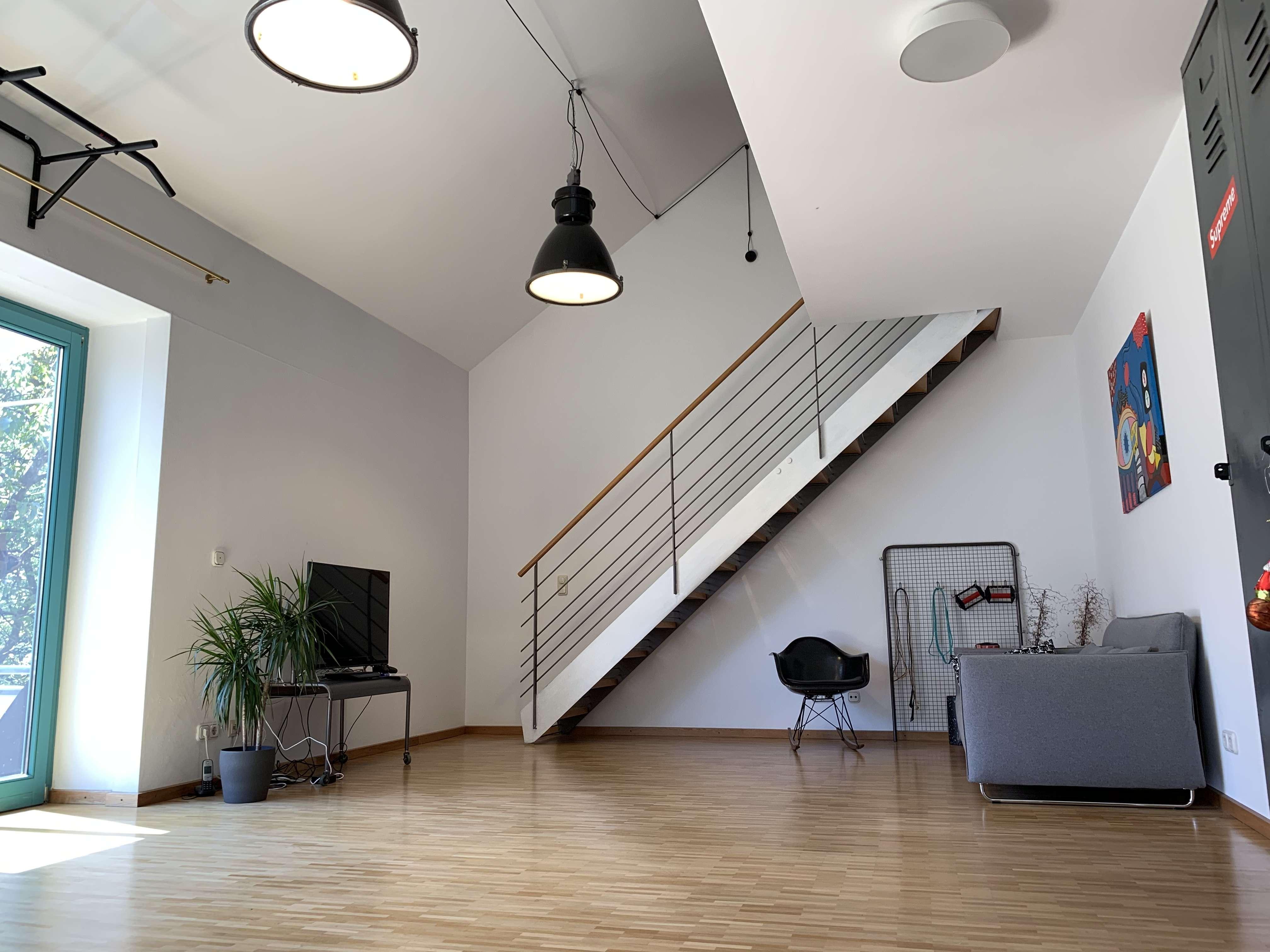 4 Zimmer Loftstyle Maisonette Wohnung in Top-Lage am Stadtpark - 125 qm mit Balkon