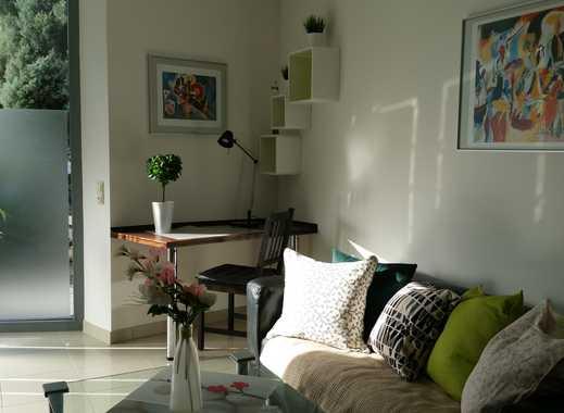 Vollmöbliertes Wohnen in Bo-Querenbg. Ruhige 2-Raumwohng., Uninah mit eigenem Eingang und Terrasse