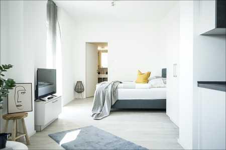 NEUBAU BOARDING HOUSES 1 Zimmer im EG -voll ausgestattet - PRIME PARK **Tagespreis Euro 79,- €** in Stadtmitte (Aschaffenburg)