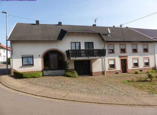 Familienfreundliches, grosses ehemaliges Bauernhaus mit 2 Wohneinheiten und viel Potential in Wadern