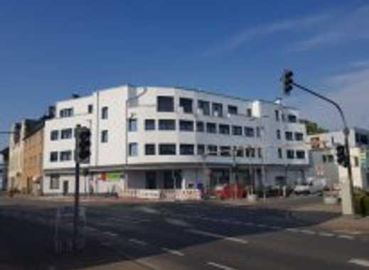 barrierefreie möbilierte Neubauwohnung mit Balkon mitten in der Stadt zu vermieten