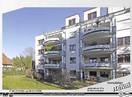 Großzg. gepfl. 3  Zim.-Wohnung mit großer Loggia in Erlangen Süd (Erlangen)