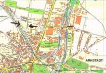 Großes Baugrundstück am Hauptbahnhof in