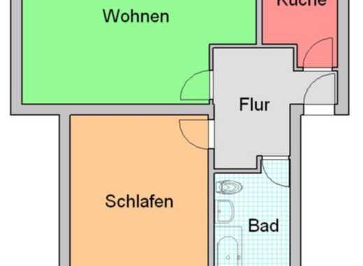 Ab sofort, 2-Raum-Wohnung im Dichterviertel!