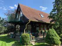 Wochenend-Ferienhaus-Jagdhaus mit 96 ha Eigentumsland