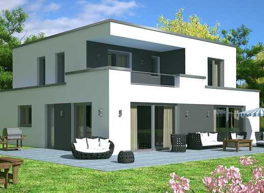 Leverkusen-Schlebusch - Architektenhaus mit Sicht auf Köln
