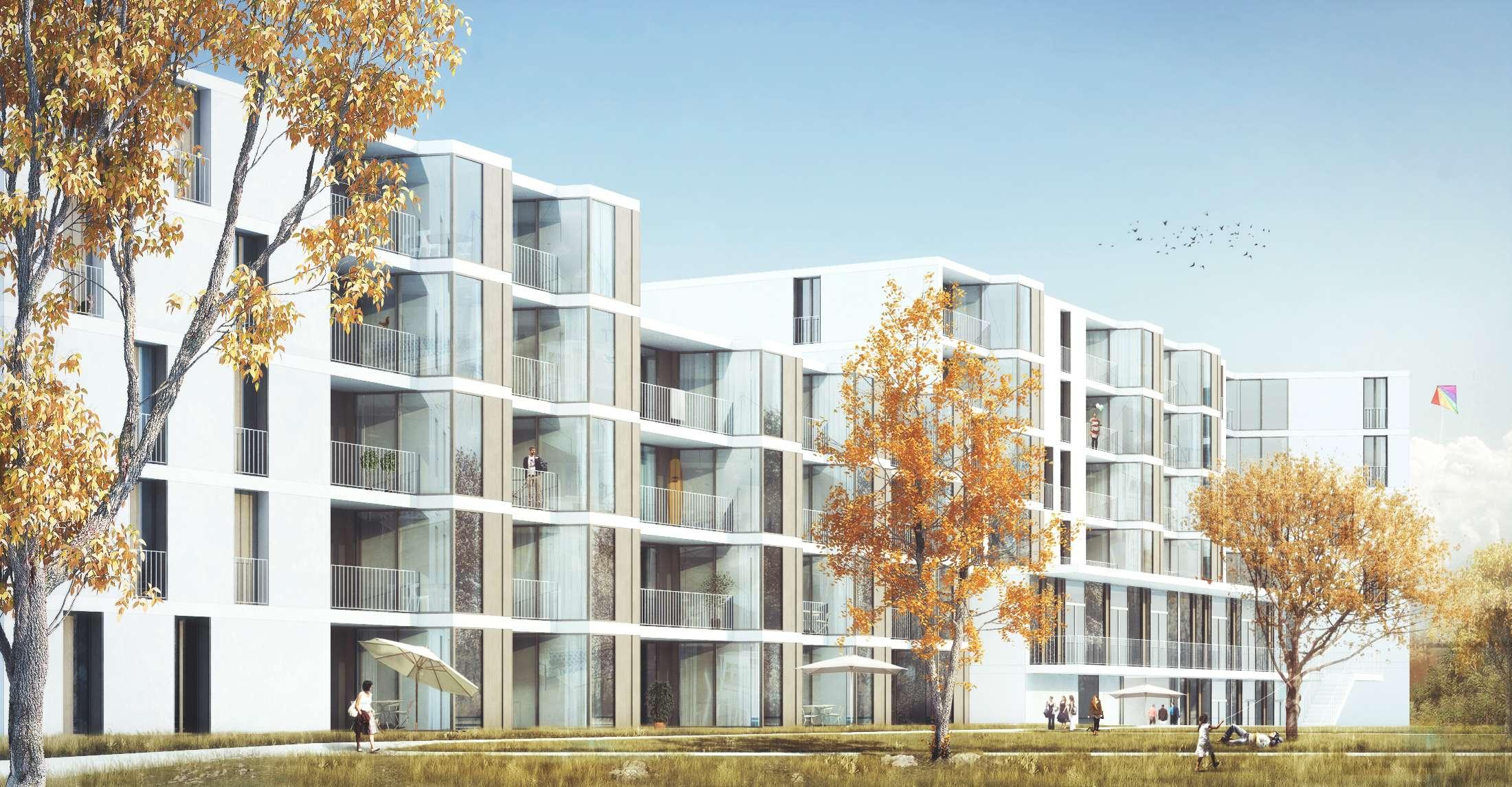 MÜNCHEN-MODELL Neubau 1-Zimmerwohnung mit Wohnküche in Freiham in Aubing (München)