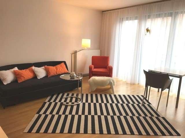Auf Zeit: komplett möblierte 2-Zi-Wohnung mit Balkon, mitten in Bad Aibling, aber nicht laut. in Bad Aibling