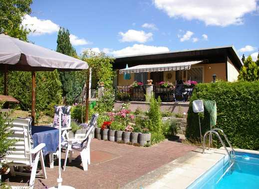 Wochenendgrundstück mit Bungalow und Pool in Dresden - Hellerau