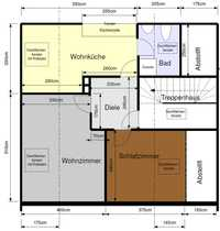 Zwei Zimmer Dachgeschoßwohnung