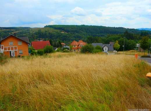 Schönes Baugrundstück mit 599m² und fantastischem Weitblickt in Ortenberg zu verkaufen