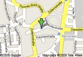 Zentrumsnah! saniert! 2 ZWKB! ca. 50 m²! 445,-€ kalt! in Oberhausen (Augsburg)
