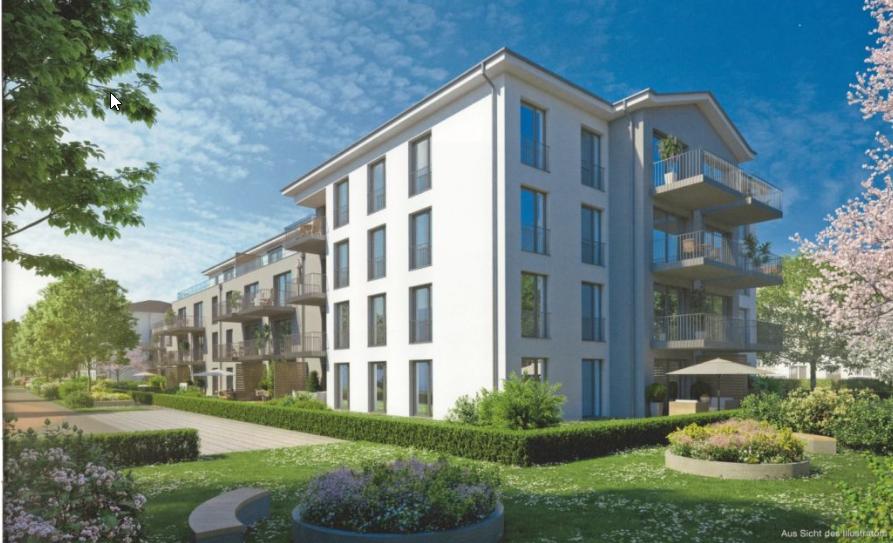 Erstbezug: exklusive 2-Zimmer-EG-Wohnung mit Balkon in Landsberg am Lech in Landsberg am Lech