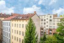 Sonnige Balkonwohnung über den Dächern