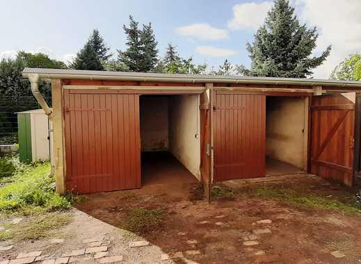 Garage im abgeschlossenen Hofbereich eines Mehrfamilienhauses im Zentrum von Bitterfeld