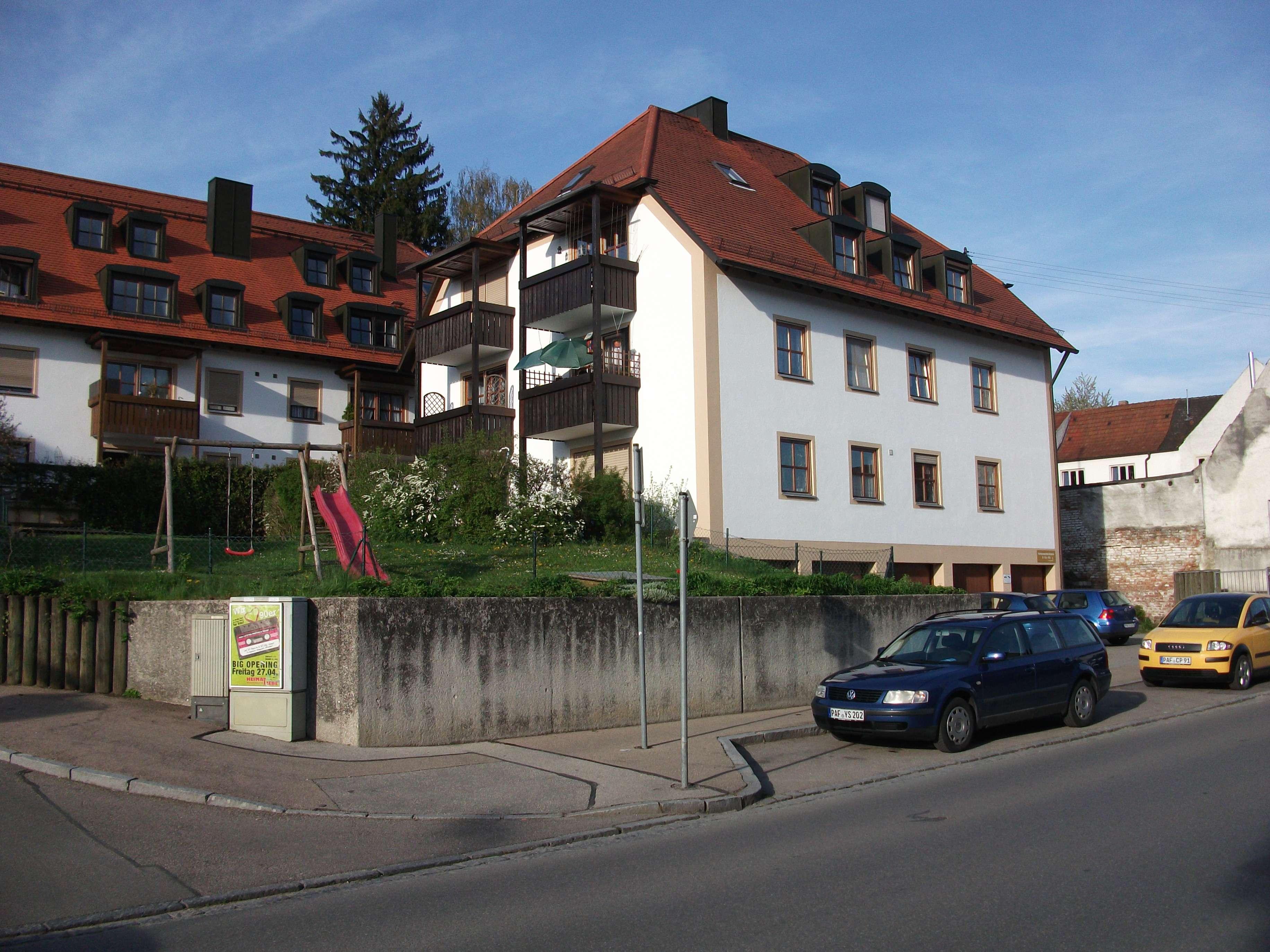 Stilvolle, helle, gepflegte 2-Zimmer-Erdgeschosswohnung mit Terrasse in Pfaffenhofen an der Ilm in Pfaffenhofen an der Ilm