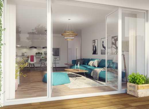 MOMENTE BERLIN! Stilvolles 4-Zimmer-Penthouse mit großer On-Top-Dachterrasse und Blick ins Grüne!