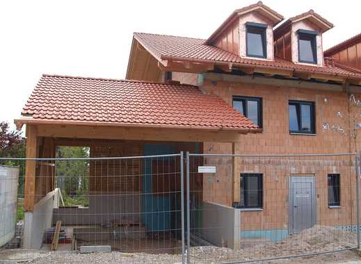 Neubau-Doppelhaushälfte (KfW 55 Haus) in ruhiger, sonniger Ortslage, Obj. T/0364